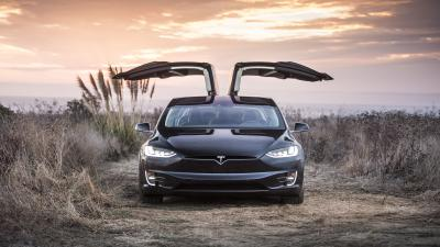 Tesla Model X Widescreen HD Wallpaper 62156
