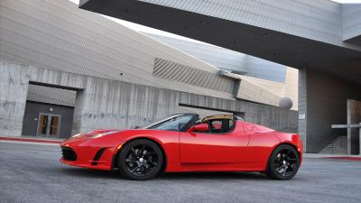 Tesla Roadster Desktop HD Wallpaper 62149