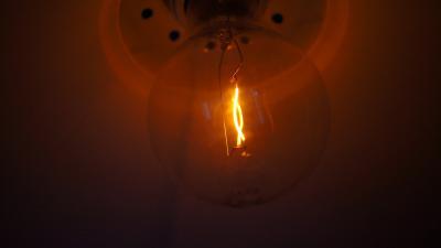Unique Light Bulb Up Close Wallpaper 61828