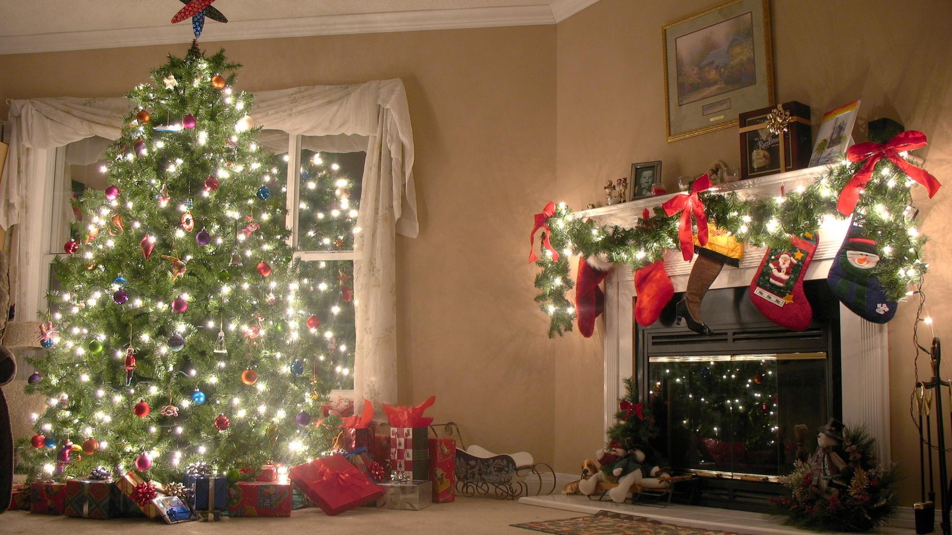 christmas tree desktop wallpaper 62232