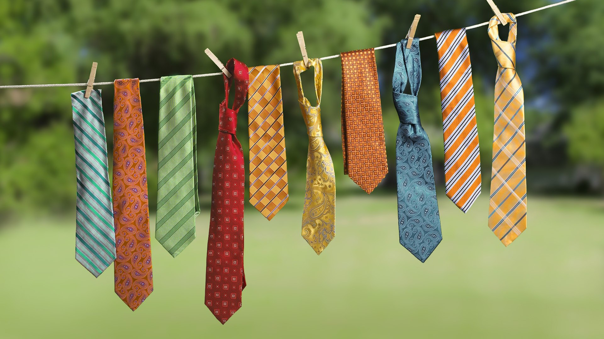 colorful ties desktop wallpaper 61714