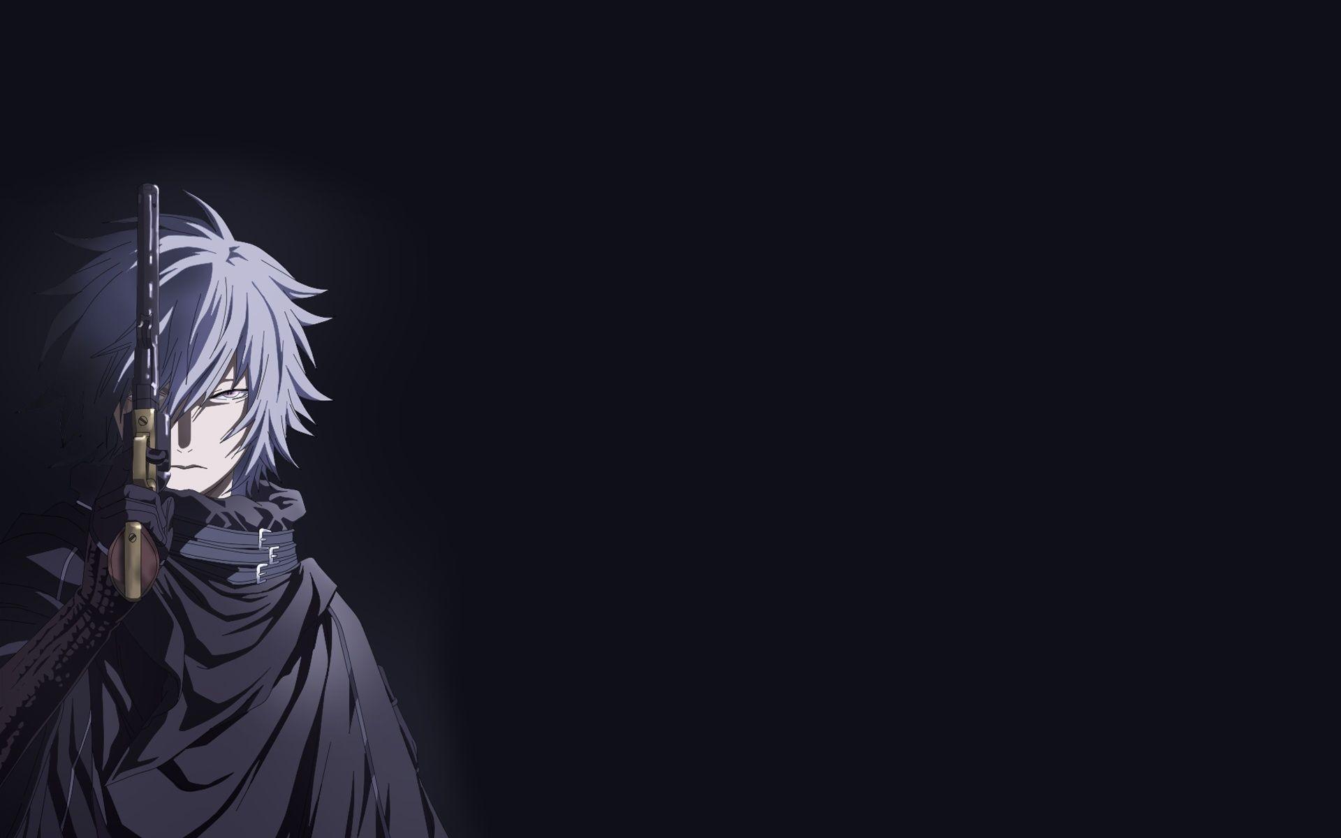 dark anime desktop wallpaper 60129