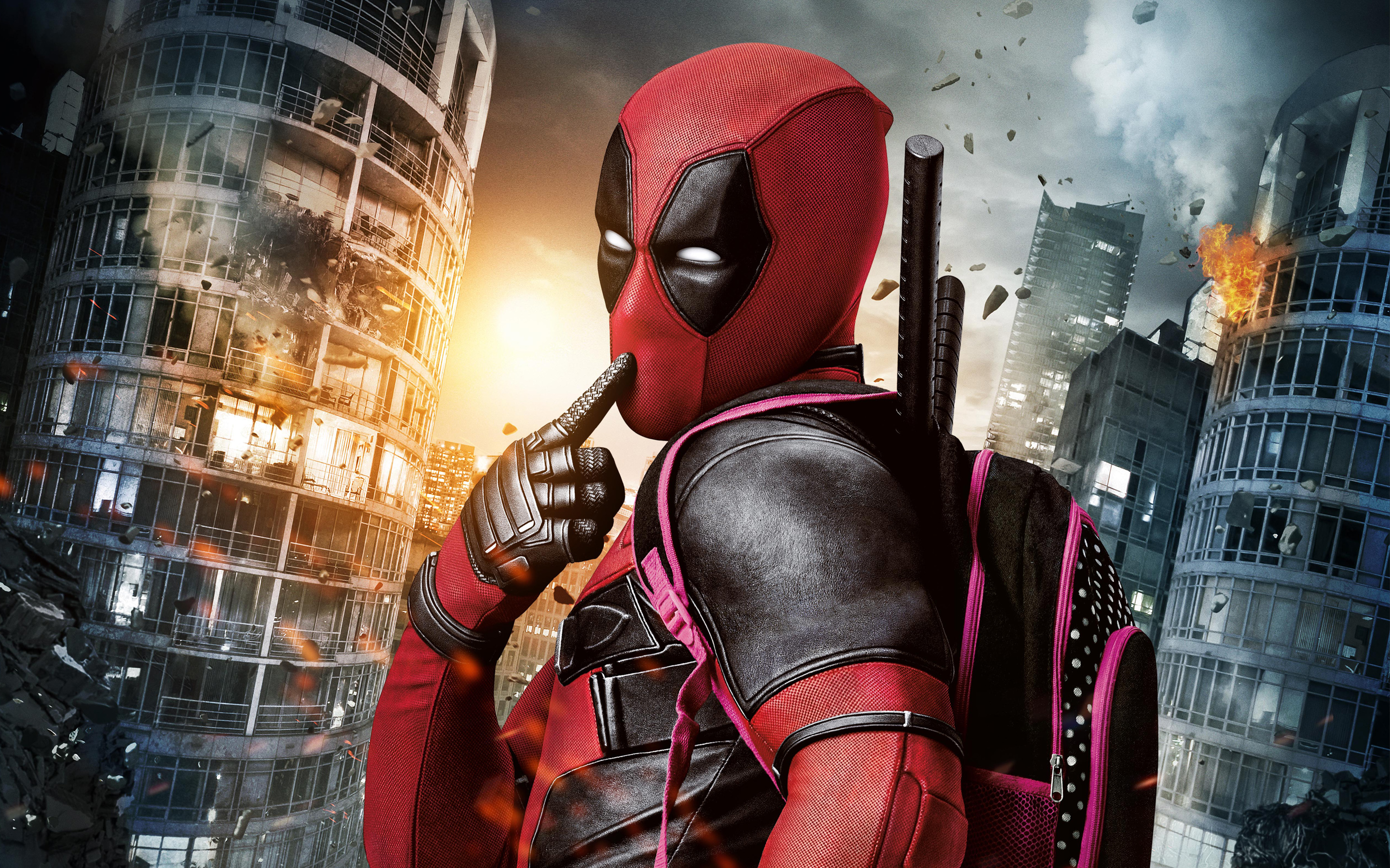 deadpool movie widescreen wallpaper 60540