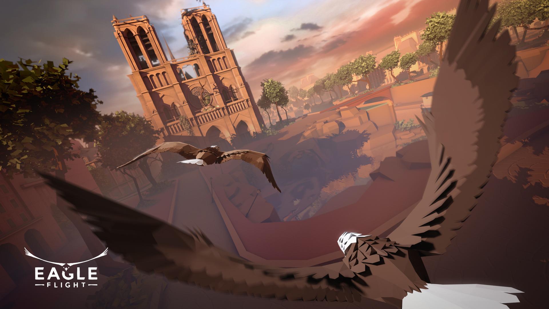 eagle flight game desktop wallpaper 61945