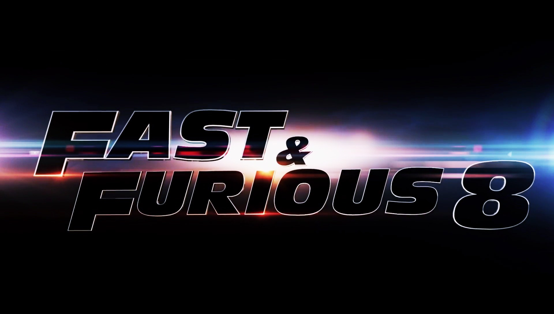 Fast And Furious 8 Logo Wallpaper 61267 1920x1090px