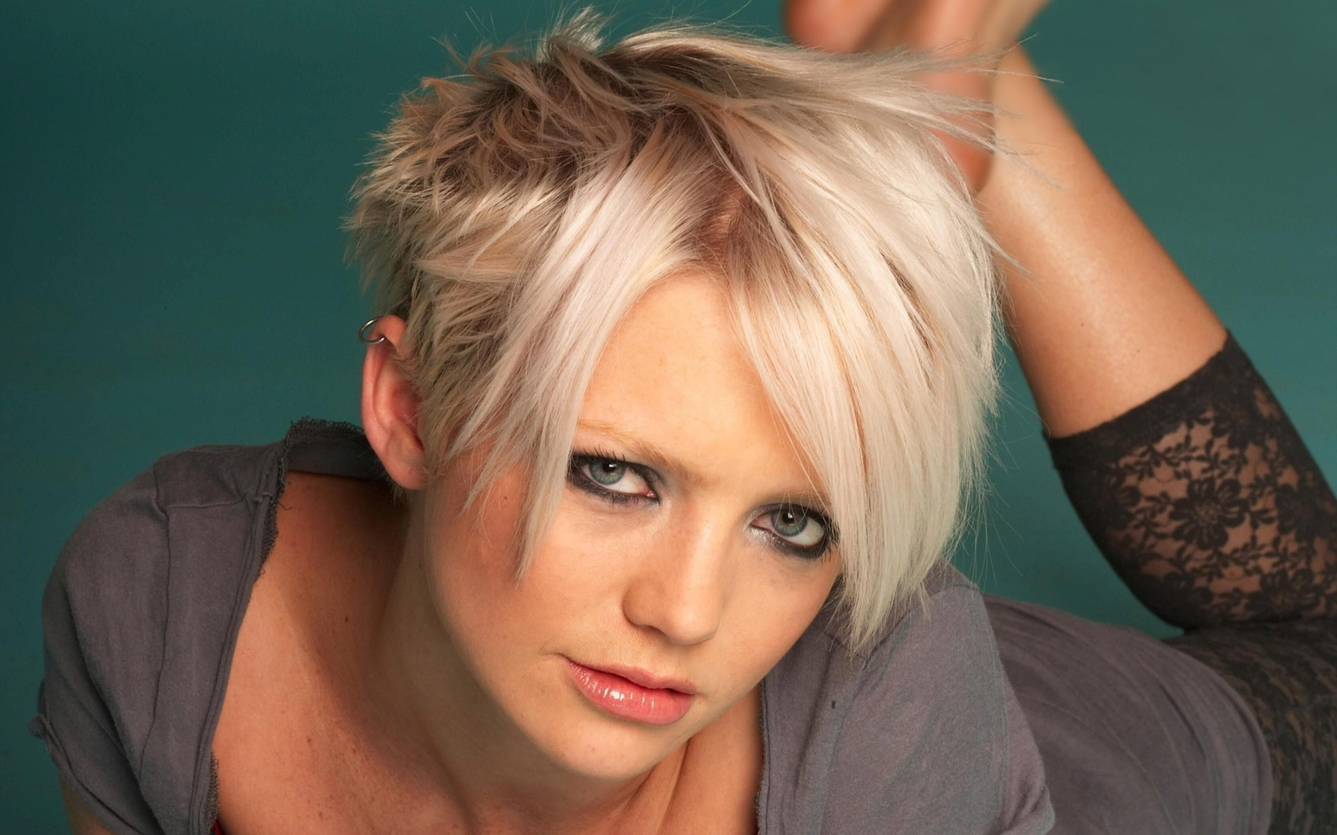 Hannah Spearritt Face Makeup Wallpaper 60736 1920x1200 px ...