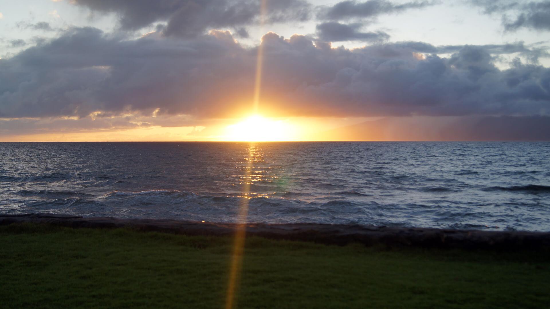 hawaii sunset desktop wallpaper 61866