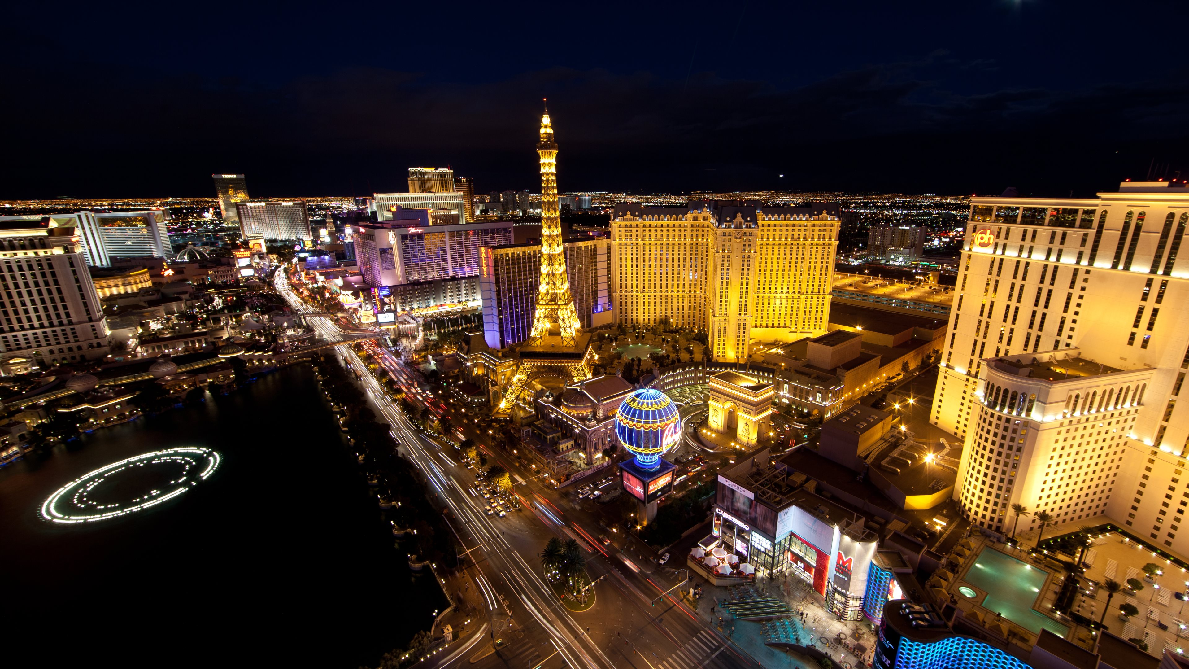 las vegas widescreen wallpaper background 61475