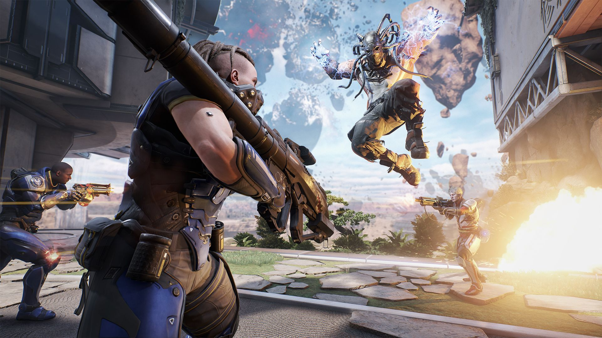 lawbreakers video game desktop wallpaper 61272