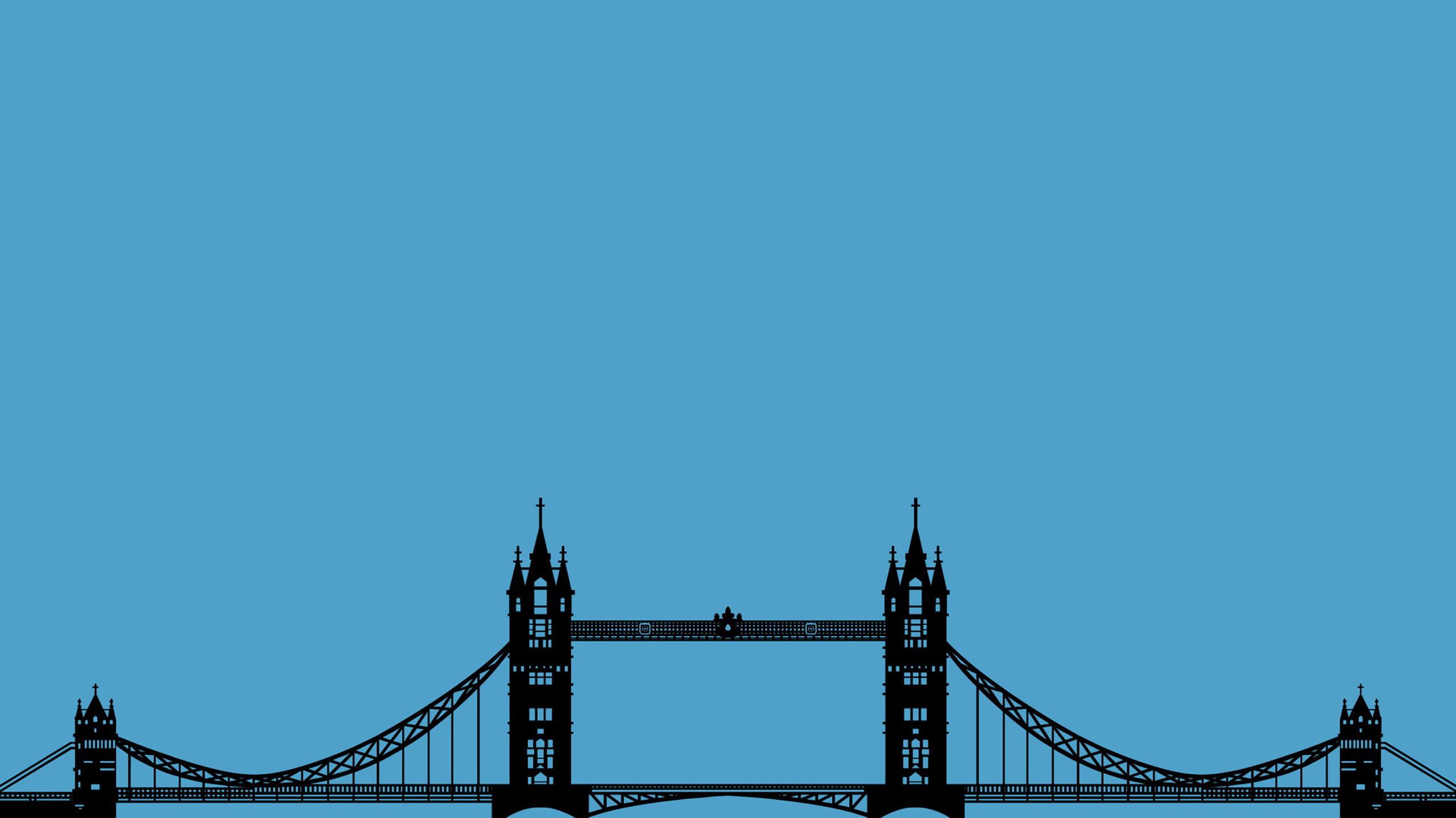 minimalist bridge wallpaper background 59193