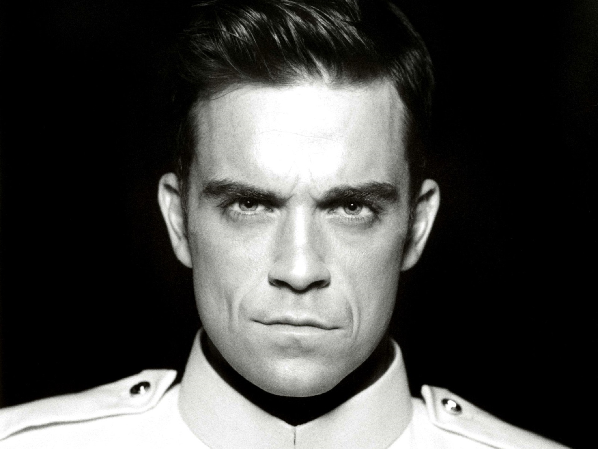 monochrome robbie williams wallpaper 60941