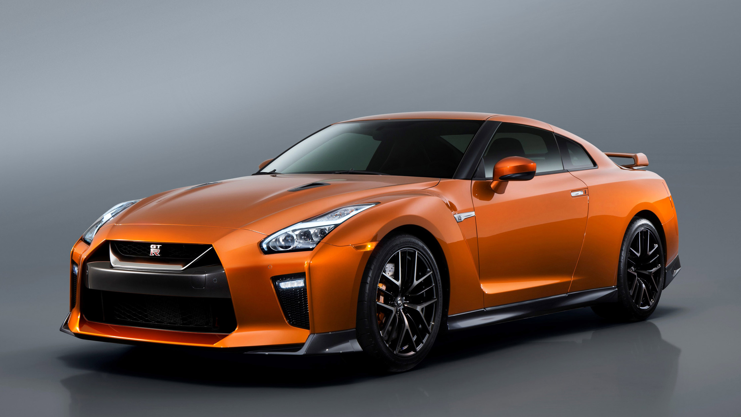orange nissan gtr wallpaper background 61853