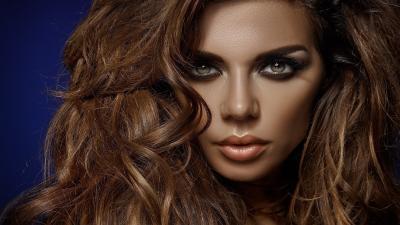 Anna Sedokova Face Makeup HD Wallpaper 60911