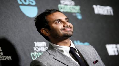 Aziz Ansari Celebrity Wide HD Wallpaper 60524