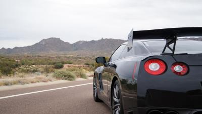 Black GTR Car Rear HD Wallpaper 61813