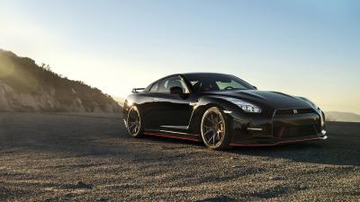 Black Nissan GTR Wide HD Wallpaper 61855