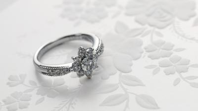 Diamond Ring Desktop Wallpaper 60237