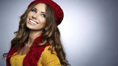 Girl Model Smile Wallpaper Background 59928