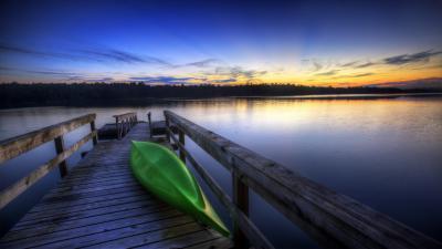 Kayak Sunset Photography Wallpaper 61469