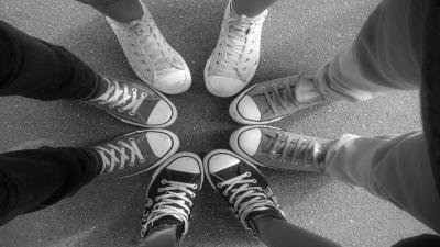 Monochrome Converse Shoes Wallpaper Photos 60361