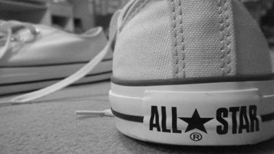 Monochrome Converse Widescreen Wallpaper 60358