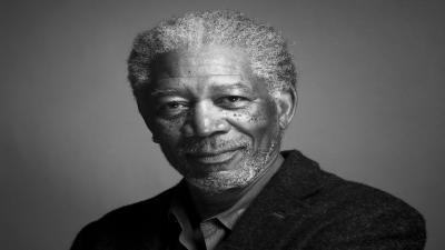 Monochrome Morgan Freeman Wallpaper 59384