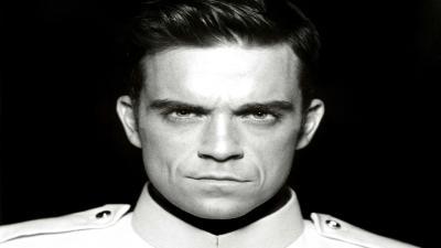 Monochrome Robbie Williams Wallpaper 60941