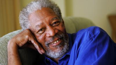 Morgan Freeman Smile Wallpaper 59379