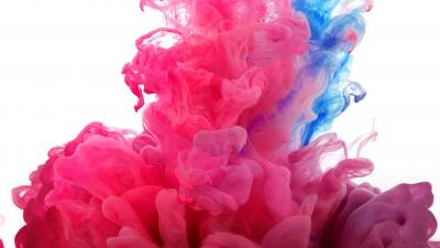 Pink and Blue Smoke Wallpaper Background 61851