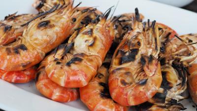 Seafood Shrimp Wallpaper Background 60485