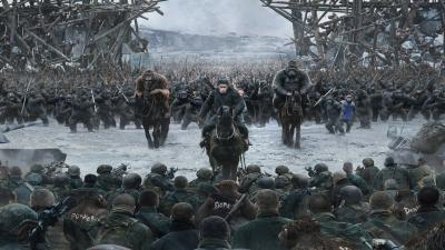 War for the Planet of the Apes Movie Wide Wallpaper HD 61312