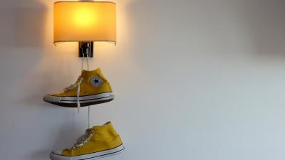 Yellow Converse Computer Wallpaper 60359