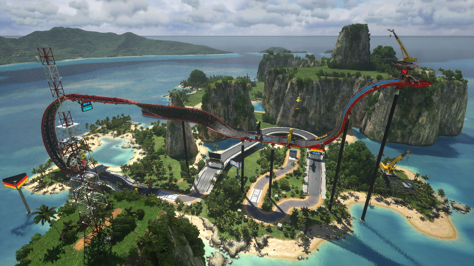 trackmania turbo map wallpaper 61440