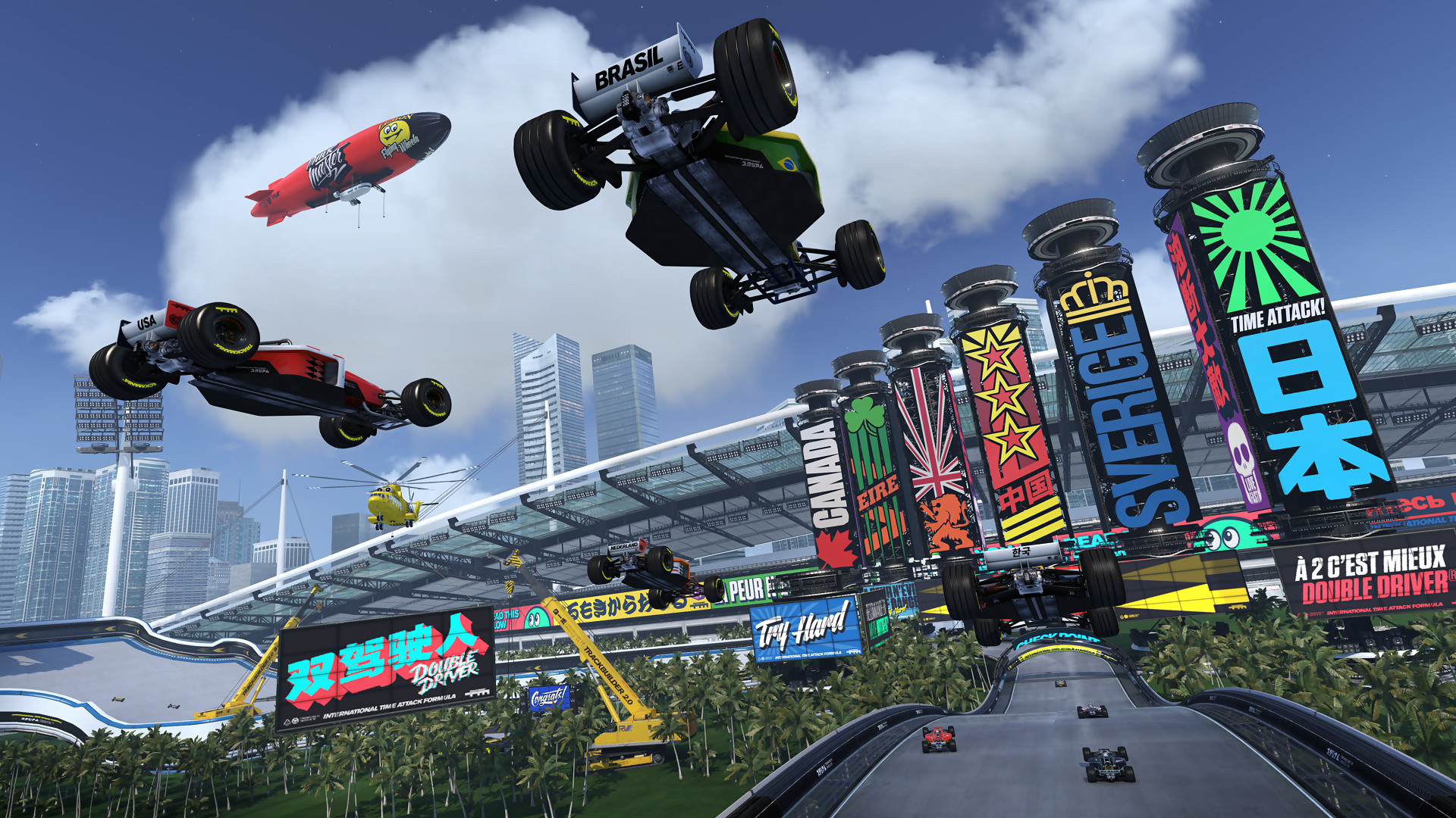 trackmania turbo racing video game wallpaper 61445