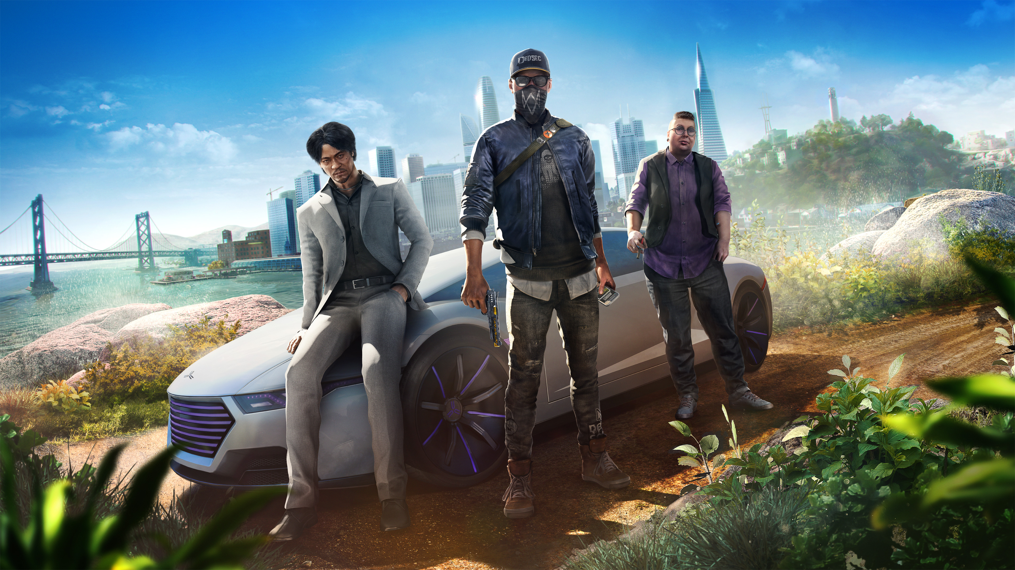 watch dogs 2 video game wallpaper background 62003