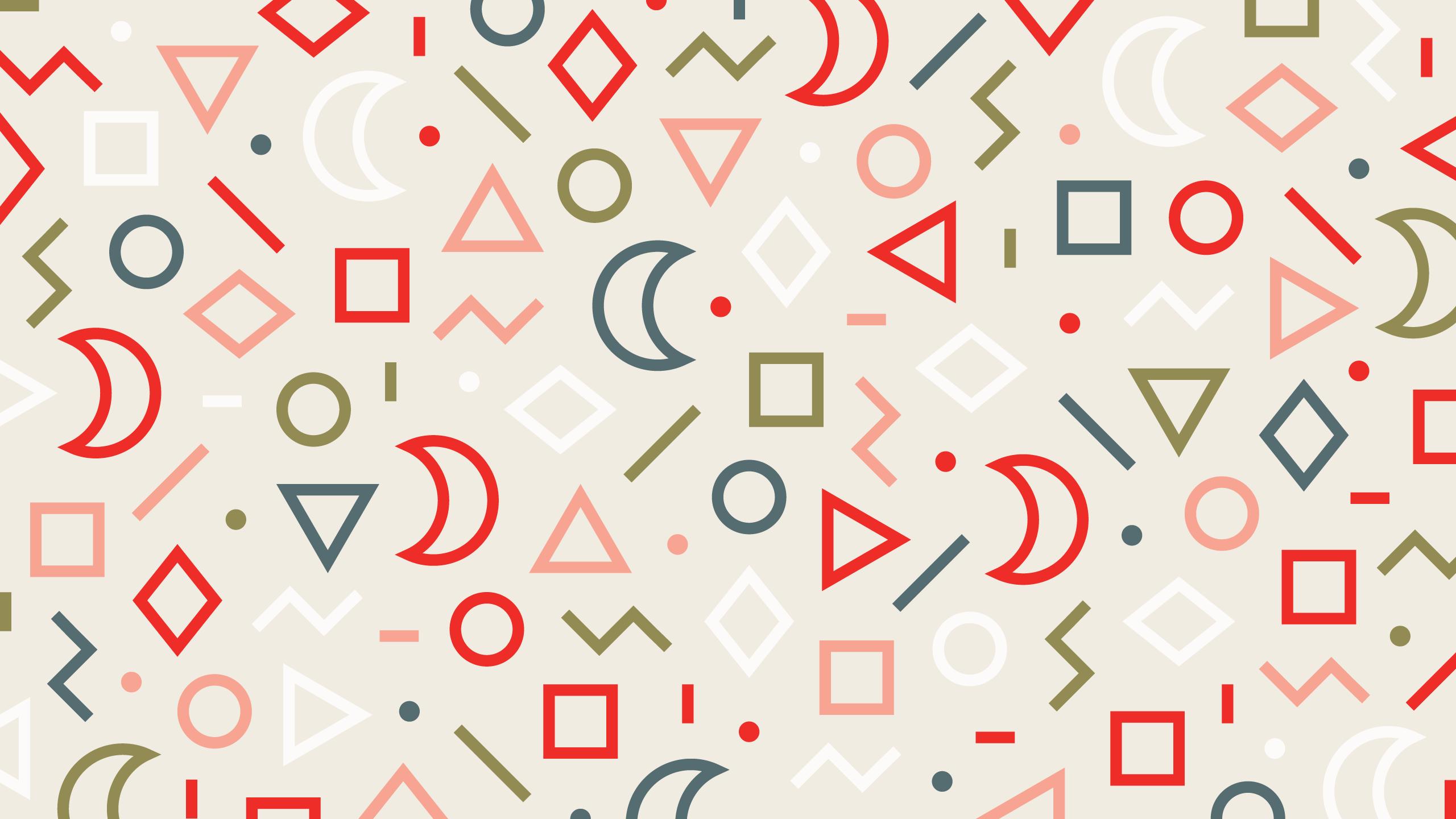 wonderful shapes wallpaper background 61709
