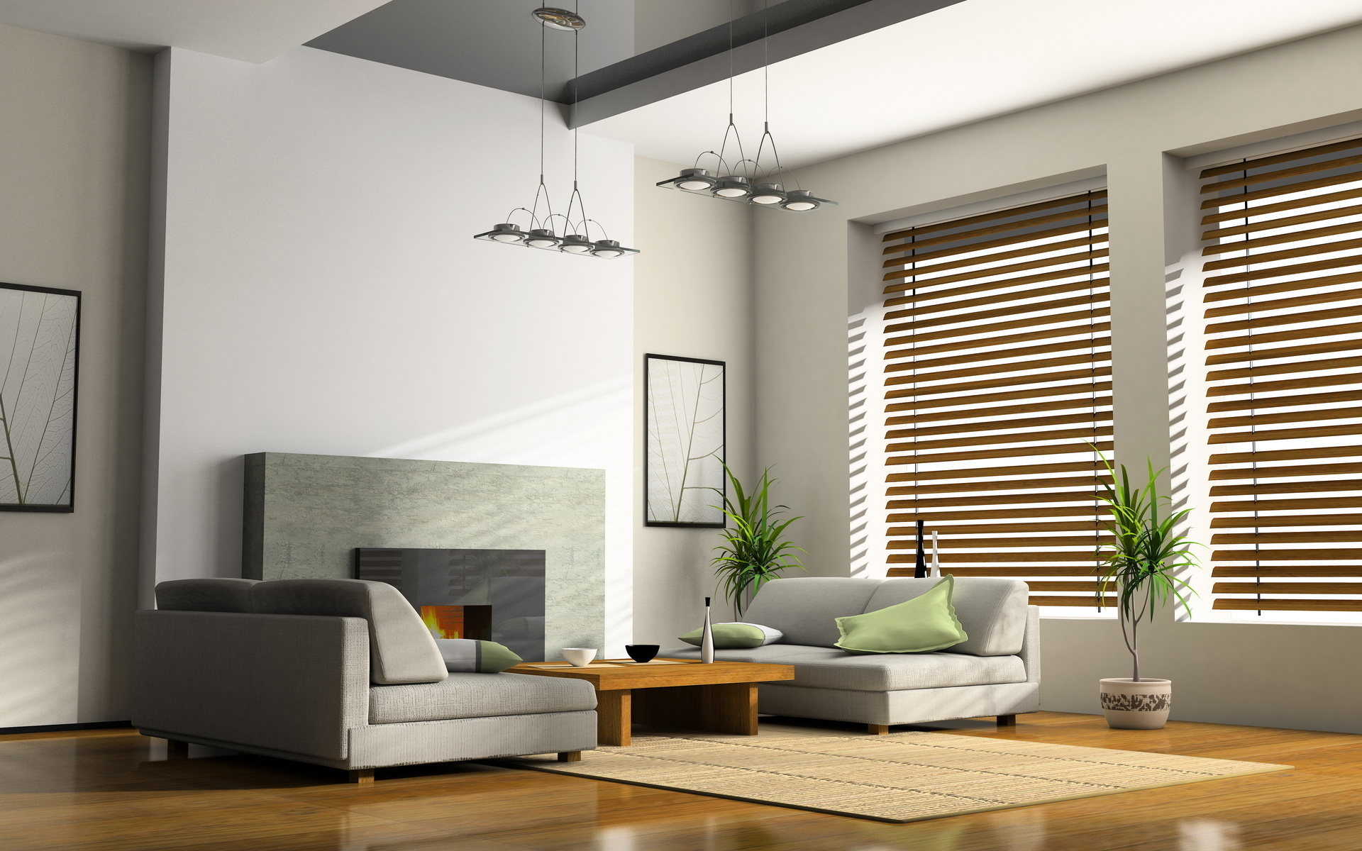 3d interior design desktop wallpaper 60899 1920x1200 px for Interior decoration wallpaper design