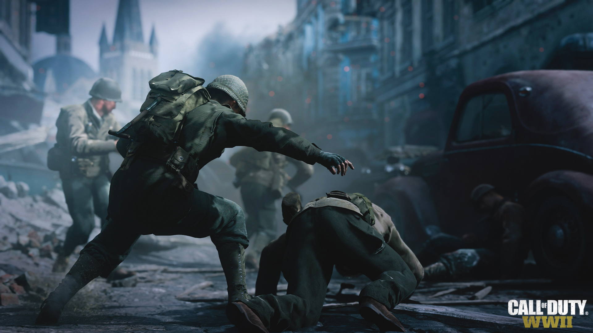 call of duty wwii video game wallpaper 61212