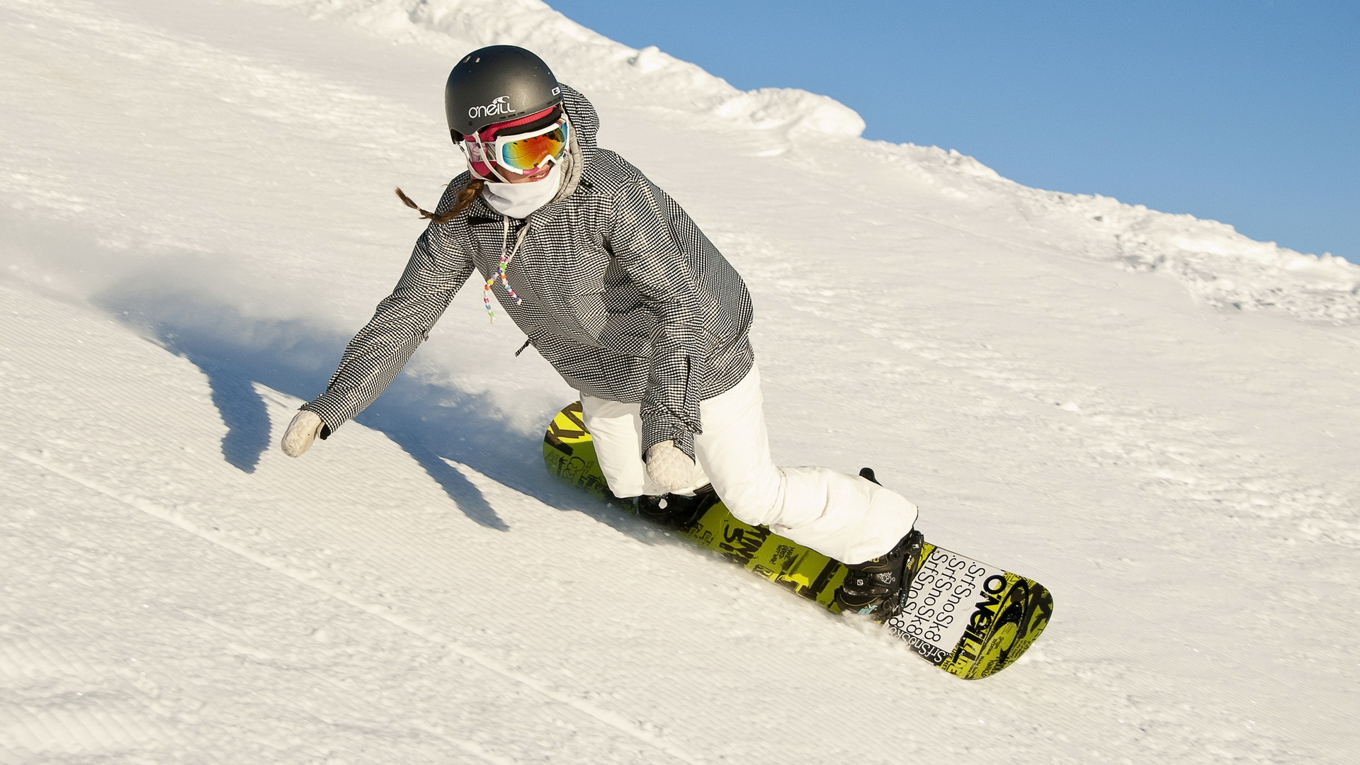 female snowboarding wallpaper 61345