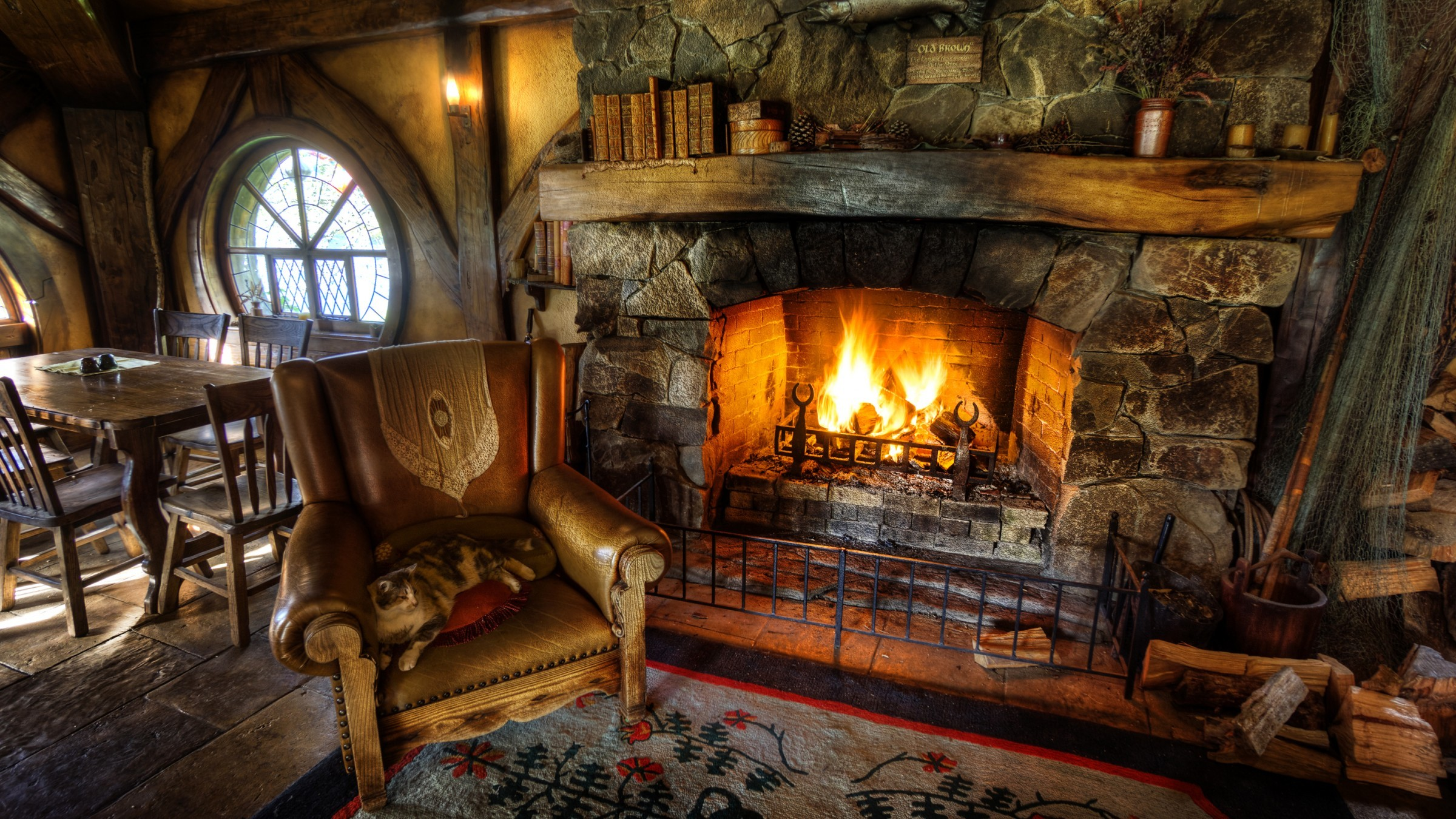 Fireplace Desktop Wallpaper Pictures 62182