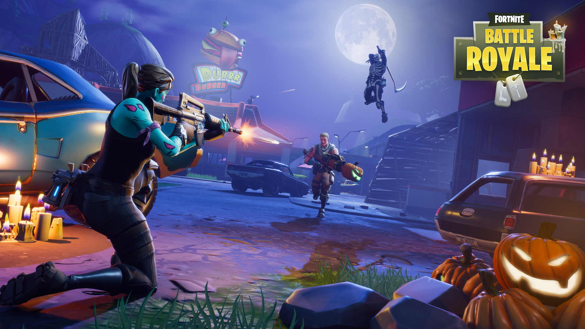 fortnite battle royale game wallpaper 62258