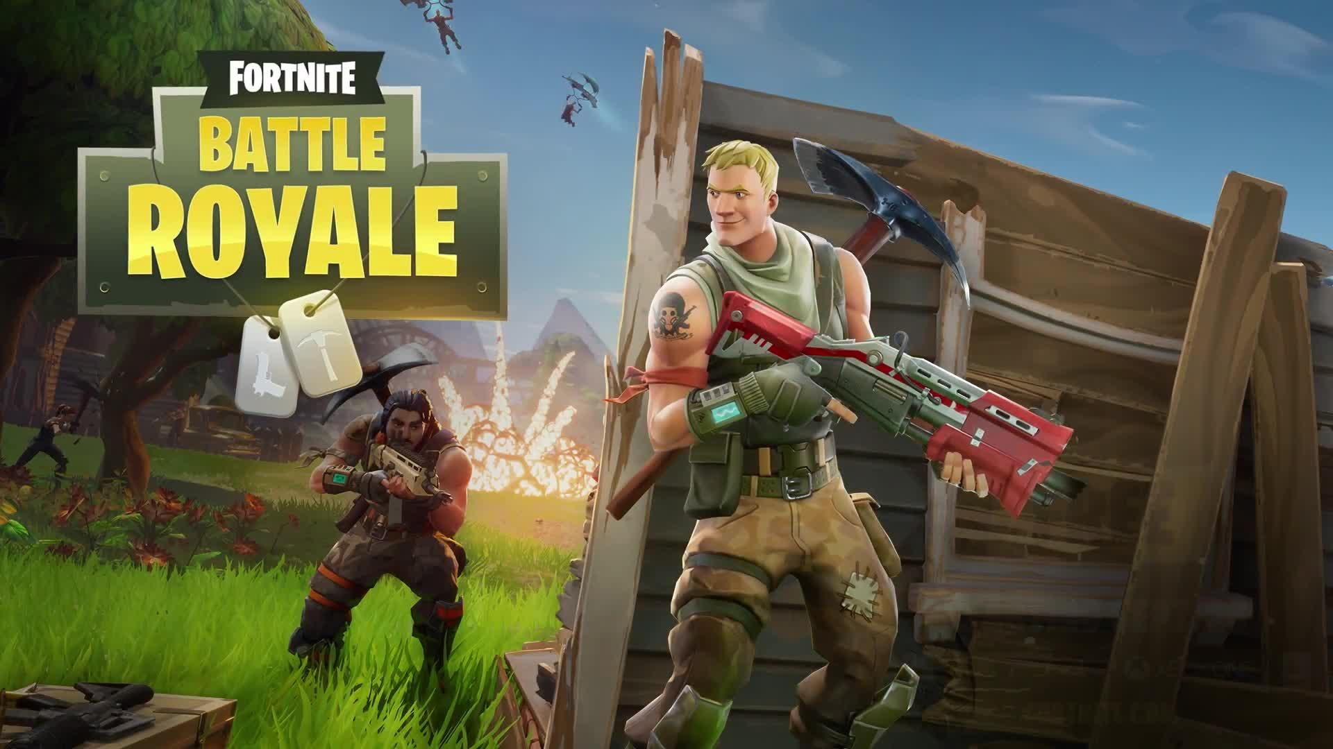 Download Fortnite Battle Royale Wallpaper 62257 1920x1080 Px High