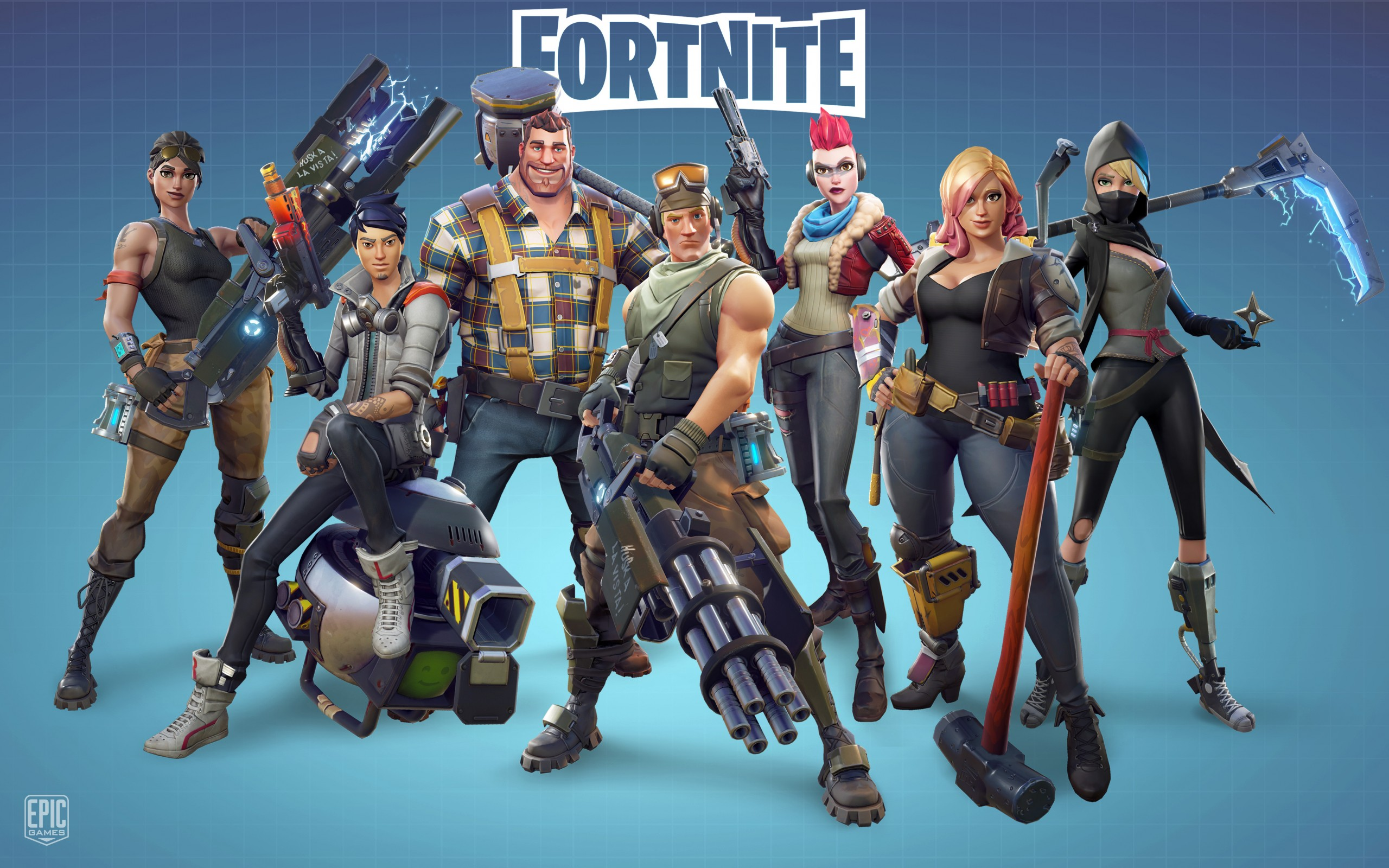 Fortnite Video Game Wallpaper Background 62256 2560x1600 px ~ HDWallSource.com