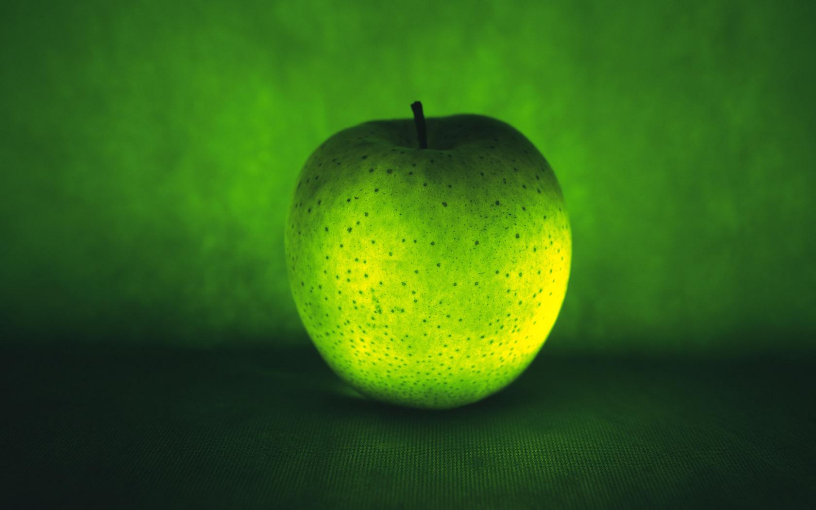 green apple computer wallpaper 61927
