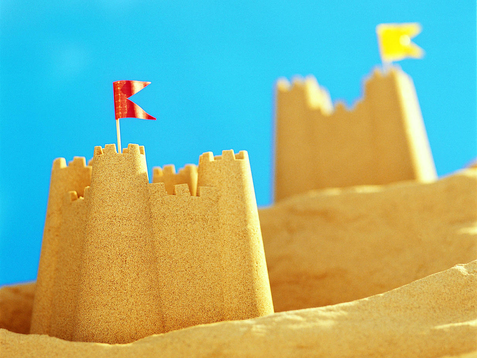 sand castle computer wallpaper 61997