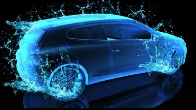 3D Neon Car Background 60184