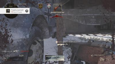 Call of Duty WW2 Buck Private Trophy Wallpaper 62130