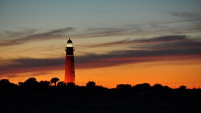 Lighthouse Sunset Wallpaper 60265