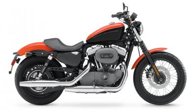 Orange Harley Davidson Bike Wallpaper 60997