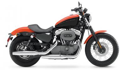 Orange Harley Davidson Bike Wallpaper 60997